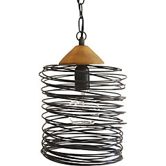 Lámpara colgante 96 cm 1 luz 60 W