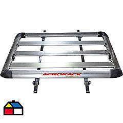Parrilla aluminio sobre barra 90x127 cm