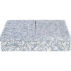 Quilt + sábanas multicolor  1,5 plazas