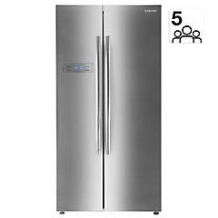 Refrigerador side by side 527 litros gris