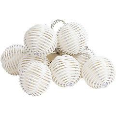 Guirnalda madeja plástica 10 luces