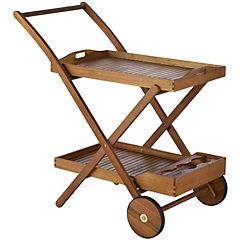 Carro bar madera 89x56x91 cm