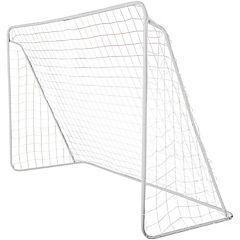 Arco de fútbol 300x200x120 cm blanco