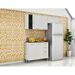 Kit cocina 4 piezas 165x50x207 cm blanco