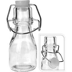 Botella de vidrio con tapa clip 75 ml