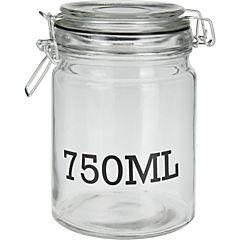 Frasco vidrio 750 ml 10x15 cm