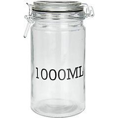 Frasco vidrio 1000 ml 10x20 cm