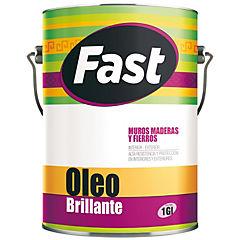 Oleo brillante fast gris 1 gl