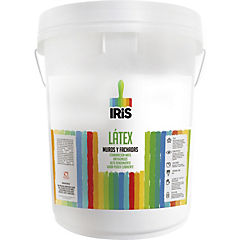 Látex muros y fachadas  blanco 4 gl plástico