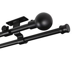 Set Doble Techo 16/19 Extensible Negro 120-210 Bola