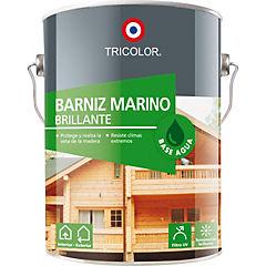 Barniz marino base agua  caoba 1 gl