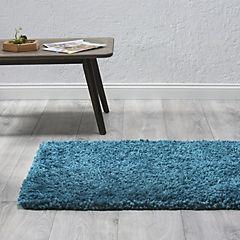 Alfombra shaggy turquesa 80x130 cm