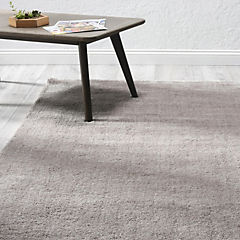 Alfombra shaggy taupe 160x230 cm