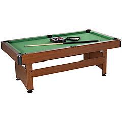 Mesa de Pool 213x118x78 cm color madera