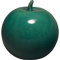 Manzana 12 cm turquesa