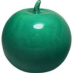 Manzana 13 cm turquesa