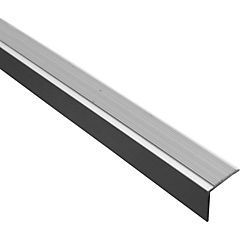 Nariz grada 20x20mm x 3mt aluminio un