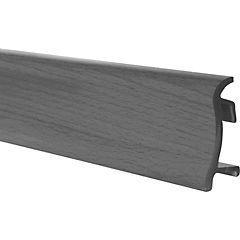 Guarda polvo dv75 2,5mx75mm veta gris
