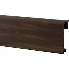 Guardapolvo dv80 2,5mt x 80mm roble