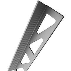 Esquinero para ceram terminal 10mmx2,5mt aluminio