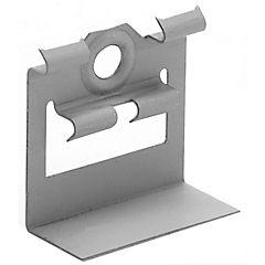 Clip dkn montaje metal natural caja 20 un