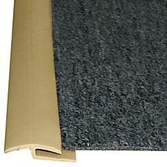 Cubrejunta alfombra  beige rollo 50m