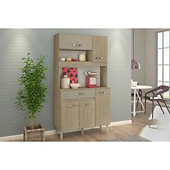 Kit mueble cocina 91x170x36 cm café