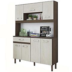 Kit mueble cocina 121x170x35,5 cm beige
