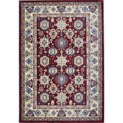 Alfombra Kazak IV Claret Red 160X240 cm