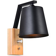 Aplique Odaiba negro 1 l E27 60 W