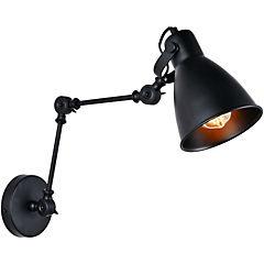 Aplique brazo industrial 1 l E27 60 W