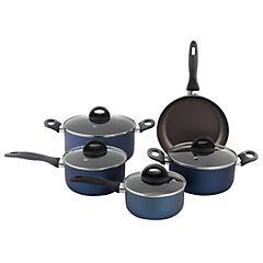 Batería de Cocina 9 piezas Mint Cobalto