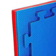 Planchas deportivas eva para pisos tatami rojo/azul 4cm