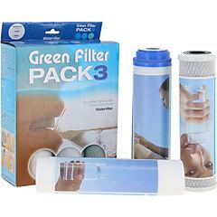 Pack 3 repuestos osmosis green filter pack