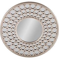 Espejo redondo moderno 63 cm dormitorio