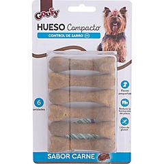 Huesitos compactos para perro 6 unidades blister