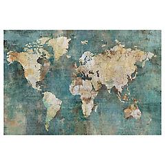 Canvas mapamundi 50x76 cm