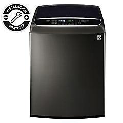 Lavadora carga superior 22 kg negro
