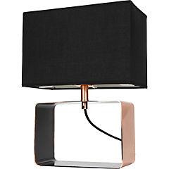 Lámpara de mesa cubo 1 l E27 25 W