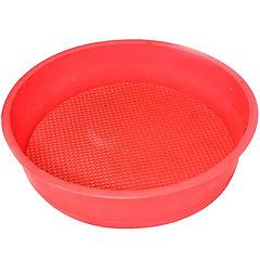 Molde para bizcocho de silicona rojo