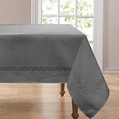 Mantel rectangular 160x230  cm gris