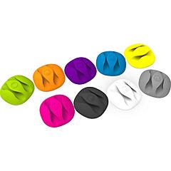 Organizador de cables multicolor
