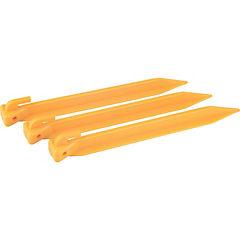 Set 6 estacas de plastico 22 cm