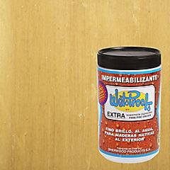 Barniz impermeabilizante para pino semibrillante 1/4 gl Natural