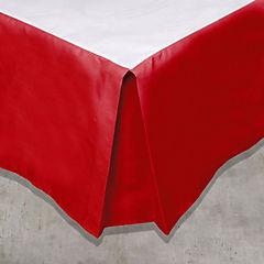 Faldón 2 plazas rojo italiano