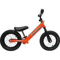 Bicicleta metal naranjo