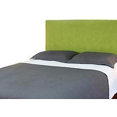 Respaldo de cama 2 plazas liso verde pistacho