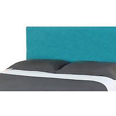 Respaldo de cama 2 plazas liso turquesa