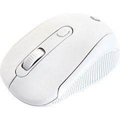 Mouse óptico inalámbrico blanco
