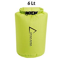 Bolsa seca verde 6 lt